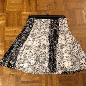 NWOT Derek Lam Pleated Skirt